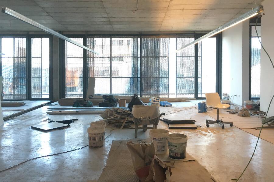 NOVO PROJECTO remodelação de escritório