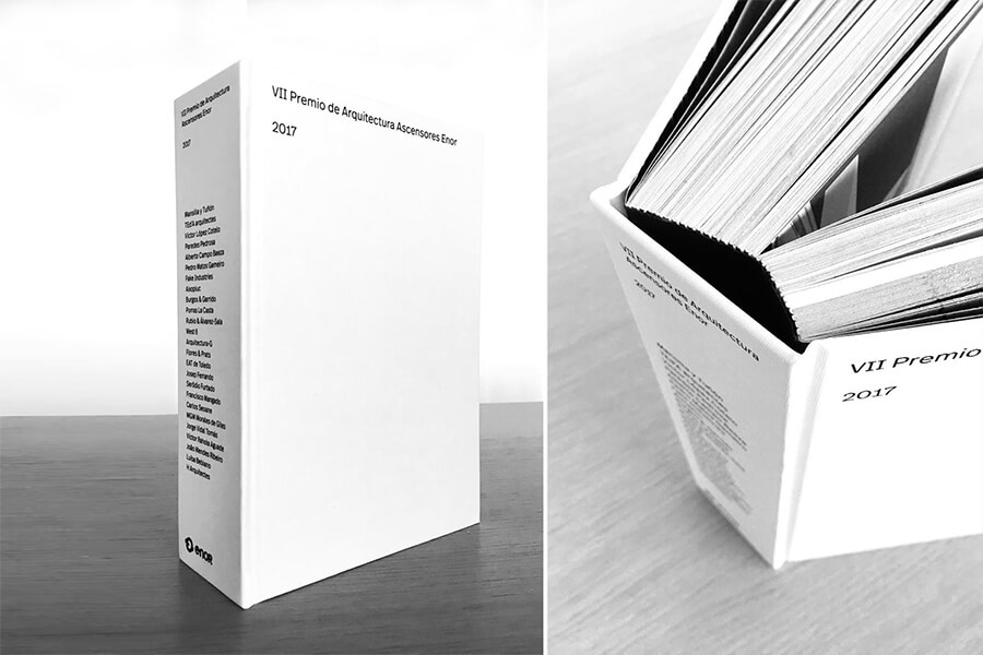DOZE CASAS featured in VII Premio Enor catalogue