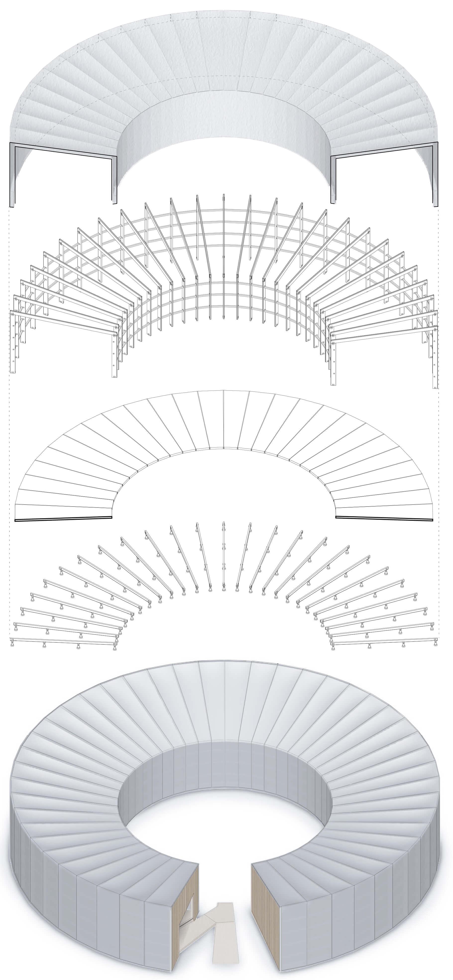Axonometria_sintese das componentes construtivas