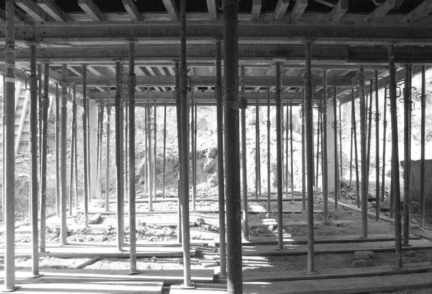 CASA EM GUALTAR em construção