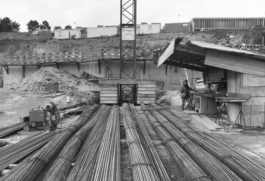 QUATRO CASAS em construção