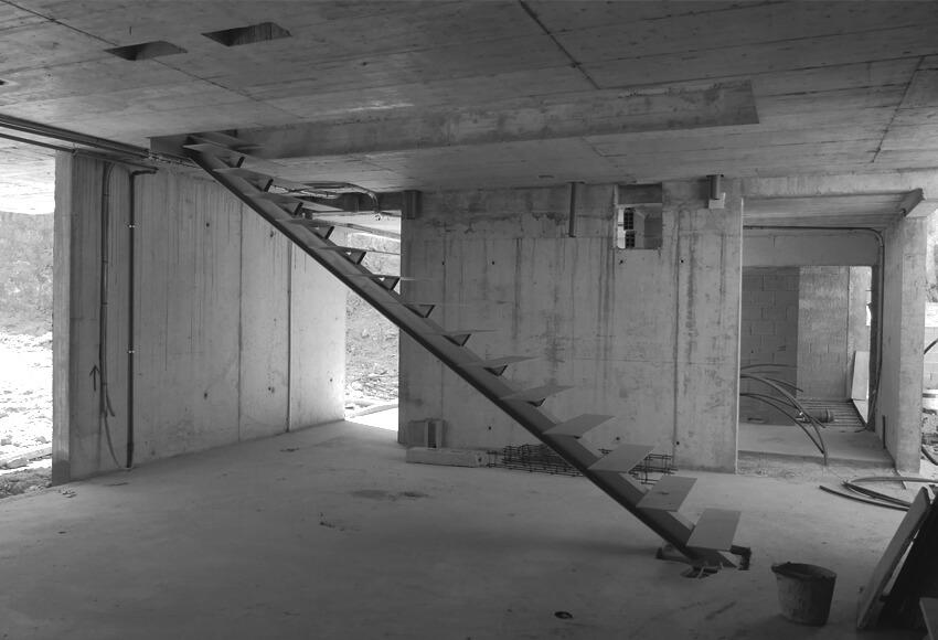 CASA EM GUALTAR construção prossegue