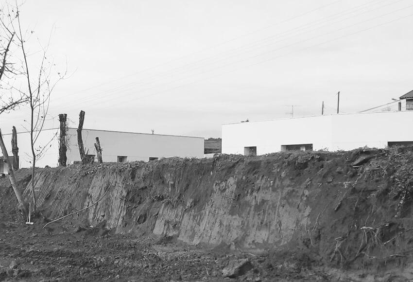 CASA NA RIBEIRA II construção quase concluída